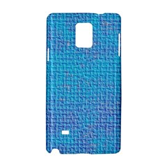 Textured Blue & Purple Abstract Samsung Galaxy Note 4 Hardshell Case