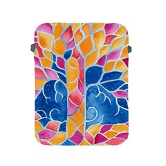 Yellow Blue Pink Abstract  Apple Ipad Protective Sleeve by OCDesignss