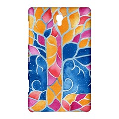 Yellow Blue Pink Abstract  Samsung Galaxy Tab S (8 4 ) Hardshell Case