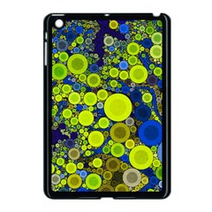 Polka Dot Retro Pattern Apple Ipad Mini Case (black) by OCDesignss