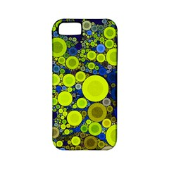 Polka Dot Retro Pattern Apple Iphone 5 Classic Hardshell Case (pc+silicone) by OCDesignss