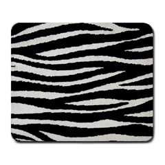 Black White Tiger  Large Mouse Pad (rectangle) by OCDesignss