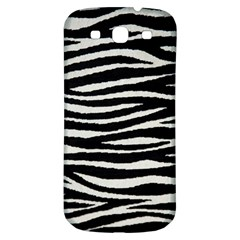 Black White Tiger  Samsung Galaxy S3 S Iii Classic Hardshell Back Case by OCDesignss