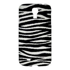 Black White Tiger  Samsung Galaxy S4 I9500/i9505 Hardshell Case by OCDesignss