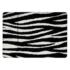 Black White Tiger  Samsung Galaxy Tab 10 1  P7500 Flip Case by OCDesignss