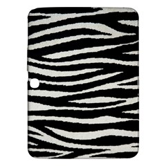 Black White Tiger  Samsung Galaxy Tab 3 (10 1 ) P5200 Hardshell Case  by OCDesignss