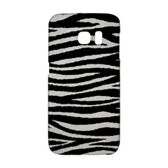 Black White Tiger  Samsung Galaxy S6 Edge Hardshell Case by OCDesignss