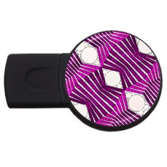 Crazy Beautiful Abstract  4gb Usb Flash Drive (round) by OCDesignss