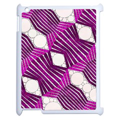 Crazy Beautiful Abstract  Apple Ipad 2 Case (white) by OCDesignss