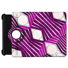 Crazy Beautiful Abstract  Kindle Fire Hd Flip 360 Case by OCDesignss
