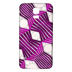 Crazy Beautiful Abstract  Samsung Galaxy S5 Back Case (white) by OCDesignss