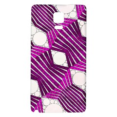Crazy Beautiful Abstract  Samsung Note 4 Hardshell Back Case by OCDesignss