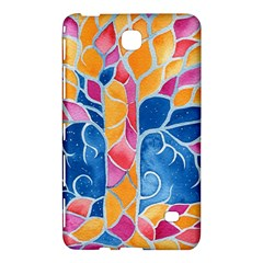 Yellow Blue Pink Abstract  Samsung Galaxy Tab 4 (8 ) Hardshell Case  by OCDesignss