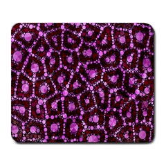 Cheetah Bling Abstract Pattern  Large Mouse Pad (rectangle) by OCDesignss