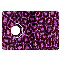 Cheetah Bling Abstract Pattern  Kindle Fire HDX Flip 360 Case by OCDesignss