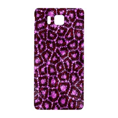 Cheetah Bling Abstract Pattern  Samsung Galaxy Alpha Hardshell Back Case by OCDesignss