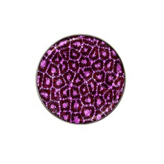 Cheetah Bling Abstract Pattern  Golf Ball Marker 4 Pack (for Hat Clip) by OCDesignss