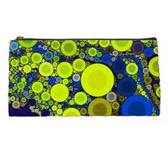 Polka Dot Retro Pattern Pencil Case