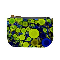 Polka Dot Retro Pattern Coin Change Purse