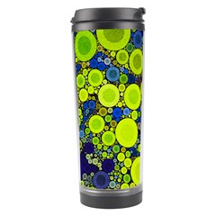 Polka Dot Retro Pattern Travel Tumbler by OCDesignss