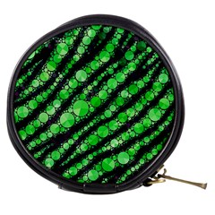 Florescent Green Tiger Bling Pattern  Mini Makeup Case by OCDesignss