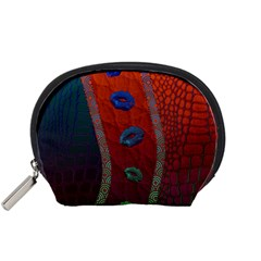 Funky Florescent Sassy Lips  Accessory Pouch (small)