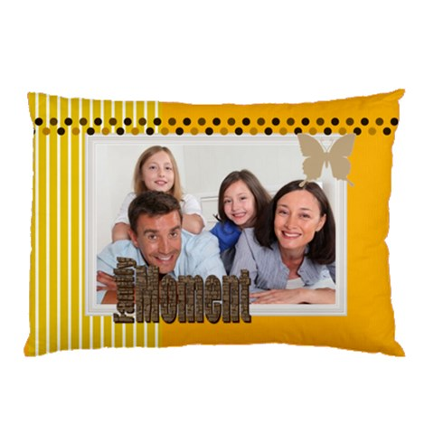 Family By Family   Pillow Case   6m1cmceyibkh   Www Artscow Com 26.62 x18.9  Pillow Case