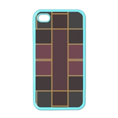 Vertical And Horizontal Rectangles Apple Iphone 4 Case (color) by LalyLauraFLM