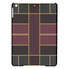 Vertical And Horizontal Rectangles Apple Ipad Air Hardshell Case