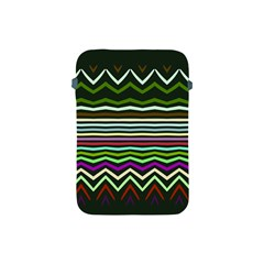 Chevrons And Distorted Stripes Apple Ipad Mini Protective Soft Case by LalyLauraFLM
