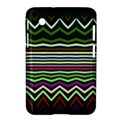 Chevrons And Distorted Stripes Samsung Galaxy Tab 2 (7 ) P3100 Hardshell Case  by LalyLauraFLM