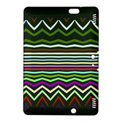 Chevrons And Distorted Stripes Kindle Fire Hdx 8 9  Hardshell Case by LalyLauraFLM