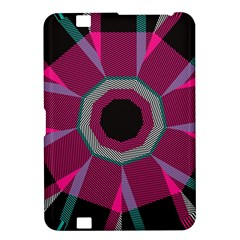 Striped Hole Kindle Fire Hd 8 9  Hardshell Case by LalyLauraFLM
