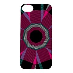Striped Hole Apple Iphone 5s Hardshell Case by LalyLauraFLM