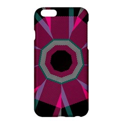 Striped Hole	apple Iphone 6 Plus Hardshell Case by LalyLauraFLM