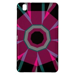 Striped Hole	samsung Galaxy Tab Pro 8 4 Hardshell Case by LalyLauraFLM