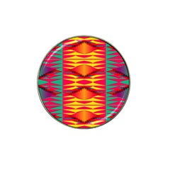 Colorful Tribal Texture Hat Clip Ball Marker (4 Pack) by LalyLauraFLM