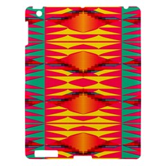 Colorful Tribal Texture Apple Ipad 3/4 Hardshell Case by LalyLauraFLM