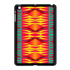Colorful Tribal Texture Apple Ipad Mini Case (black) by LalyLauraFLM