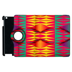 Colorful Tribal Texture Apple Ipad 3/4 Flip 360 Case by LalyLauraFLM