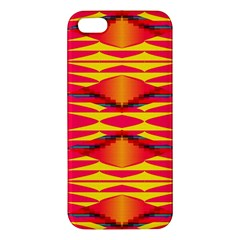 Colorful Tribal Texture Apple Iphone 5 Premium Hardshell Case by LalyLauraFLM