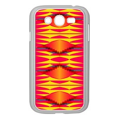 Colorful Tribal Texture Samsung Galaxy Grand Duos I9082 Case (white) by LalyLauraFLM