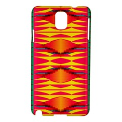 Colorful Tribal Texture Samsung Galaxy Note 3 N9005 Hardshell Case by LalyLauraFLM