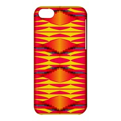 Colorful Tribal Texture Apple Iphone 5c Hardshell Case by LalyLauraFLM