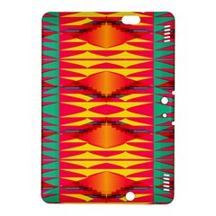 Colorful Tribal Texture Kindle Fire Hdx 8 9  Hardshell Case by LalyLauraFLM