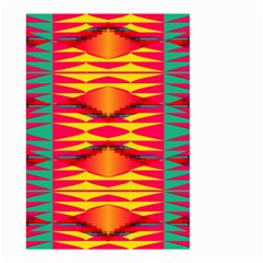 Colorful Tribal Texture Small Garden Flag by LalyLauraFLM