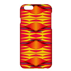 Colorful Tribal Texture	apple Iphone 6 Plus Hardshell Case by LalyLauraFLM