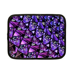 Blue Purple Glass Netbook Sleeve (small) by KirstenStar