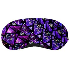 Blue purple Glass Sleeping Mask by KirstenStar