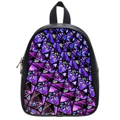 Blue Purple Glass School Bag (small) by KirstenStar